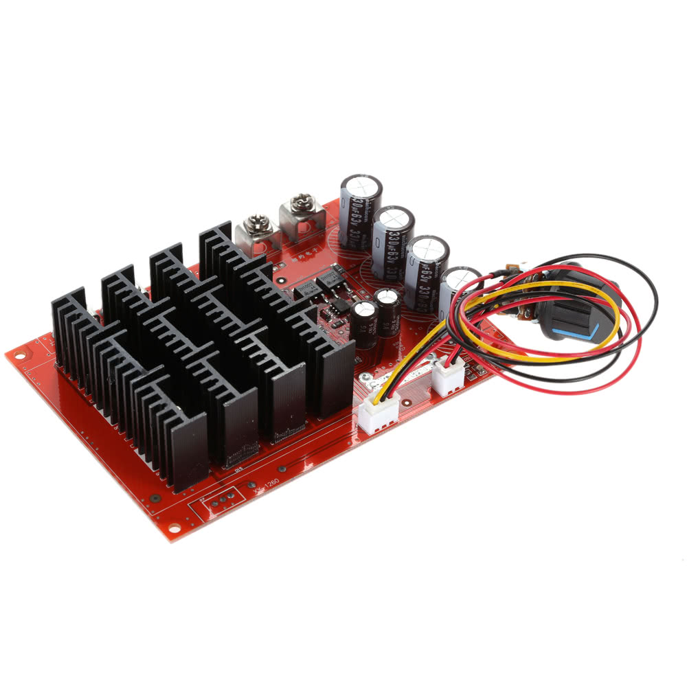 Excellent 10 50v 60a 3000w dc motor speed control pwm hho for Motor with speed control