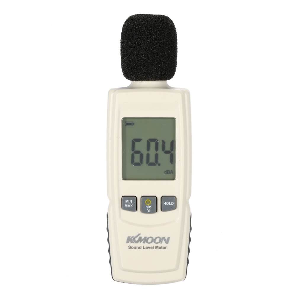 Volume Measuring Instruments : Lcd digital sound level meter noise volume measuring