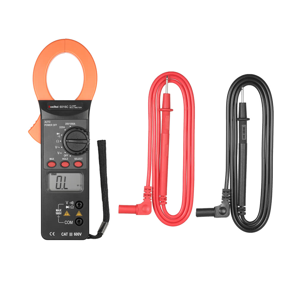 Ruoshui 1999 Counts Digital Clamp Me End 4 26 2019 430 Pm Ac And Dc Circuits Meter Voltage Current Auto