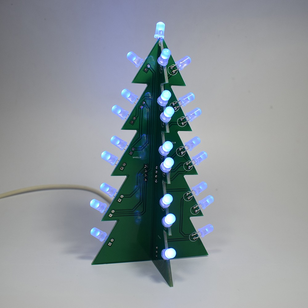 1 diy 3d christmas tree making kit - Christmas Tree Decoration Kits