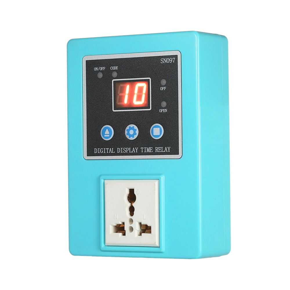 Digital Power Wireless Timer Switch End 4 26 2019 430 Pm On Off Control Controller Socket With Led Display