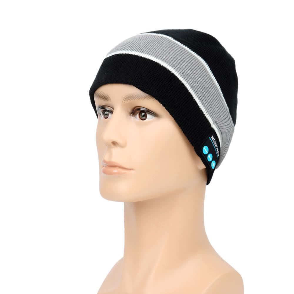 $2.96 OFF Bluetooth Headphone Beanie Hat,free shipping $8.87