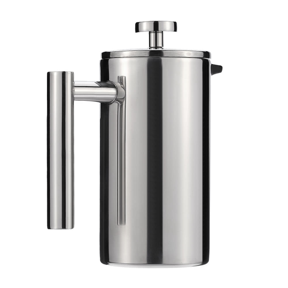 French Press Coffee Maker Nz : 350ml Stainless Steel French Press Pot Cafetiere Coffee Cup Tea Sales Online - Tomtop.com