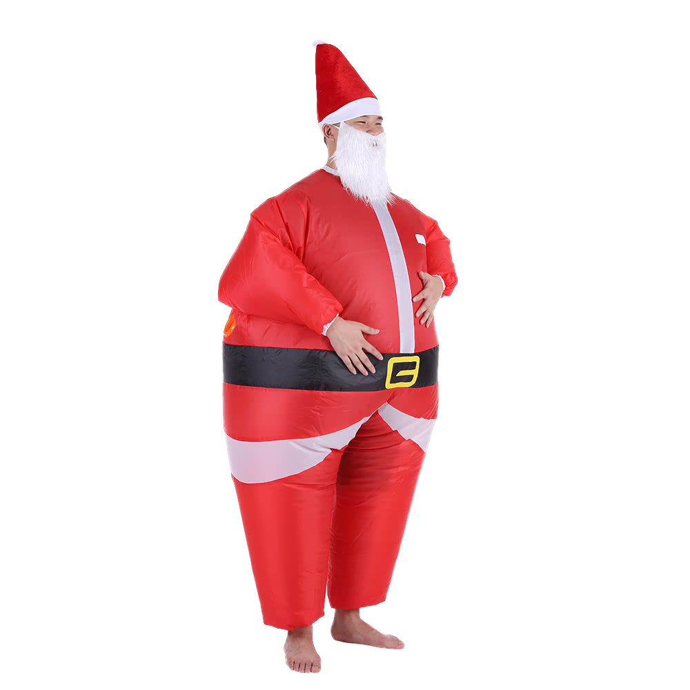 Christmas inflatable santa claus cos end pm