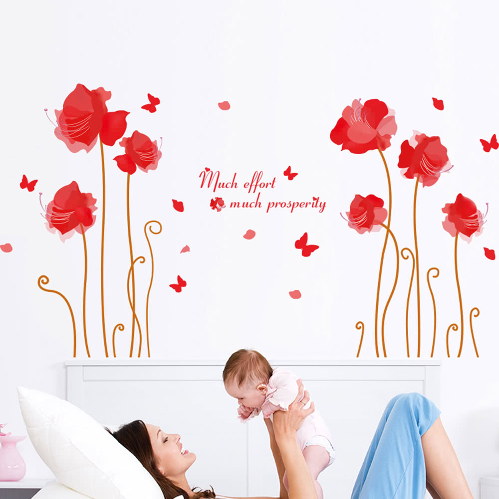 cute wall sticker removable lovely wallpaper art decal room sales any greasy dirt or water will influence the perfection of the sticker the wall stickers can be free combination to meet your demand