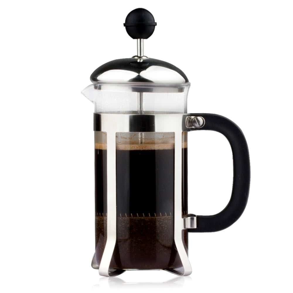 French Press Coffee Maker Nz : 350ml Stainless Steel French Press Pot 3-Cup Cafetiere Coffee Sales Online - Tomtop.com
