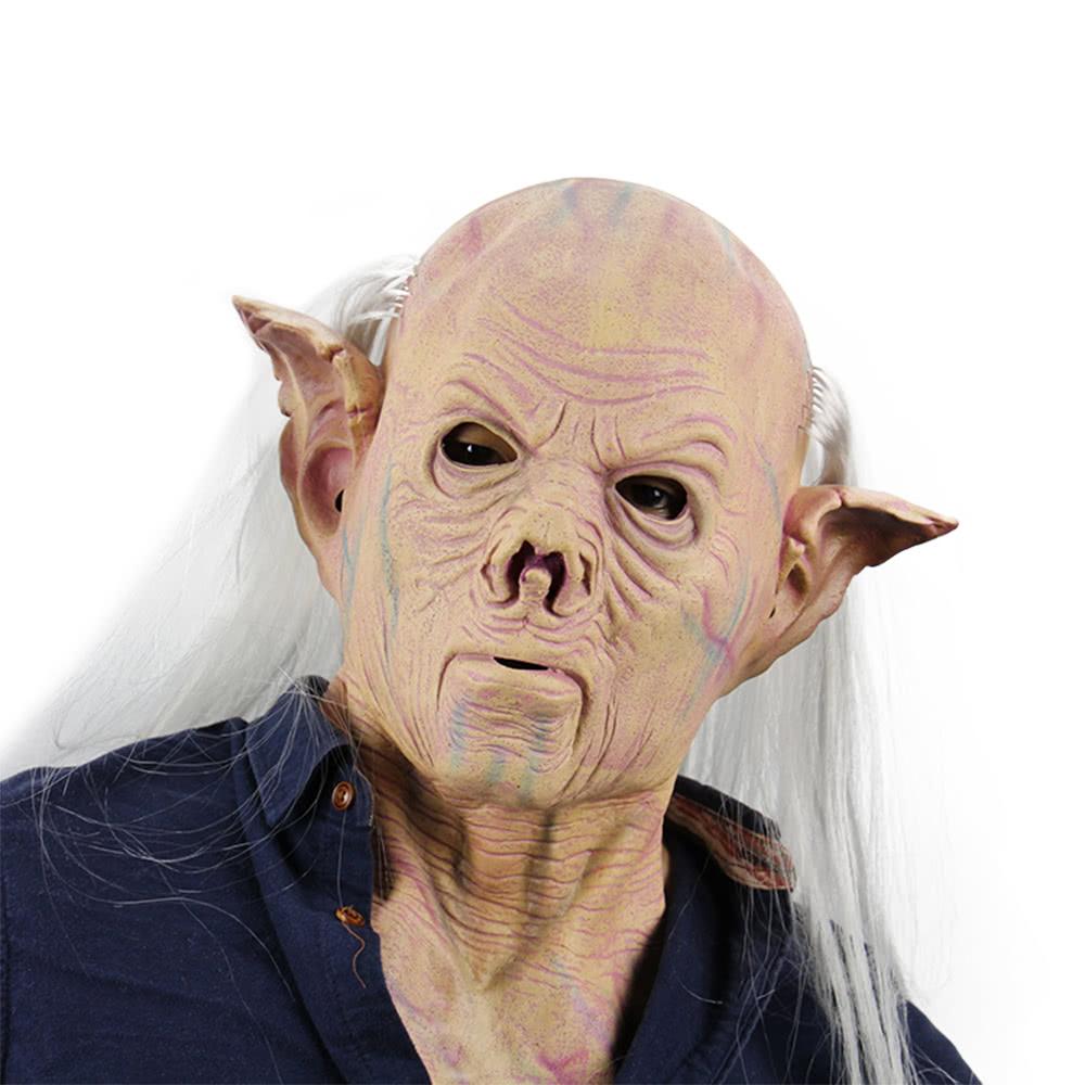 latex full head neck scary monster men mask horror freak masks sales online tomtopcom