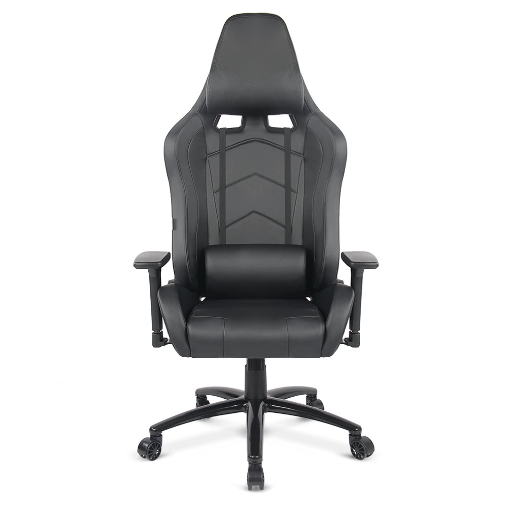 iKayaa Ergonomic Racing Style Gaming Office Chair Cool Executive Computer  Chair W/ Recline Height & Armrest Adjustable Tilt Swivel Function +  Headrest and ... - Black IKayaa Ergonomic Racing Style Gaming Office Chair Cool