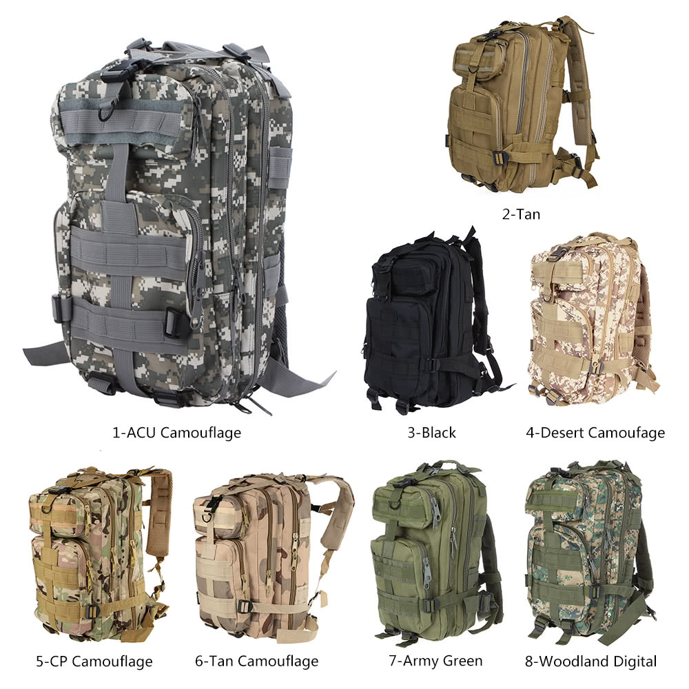 $4.99 OFF 30L Outdoor Military Backpack,shipping from UK Warehouse $4.99(Code:UKOFF50) thumbnail