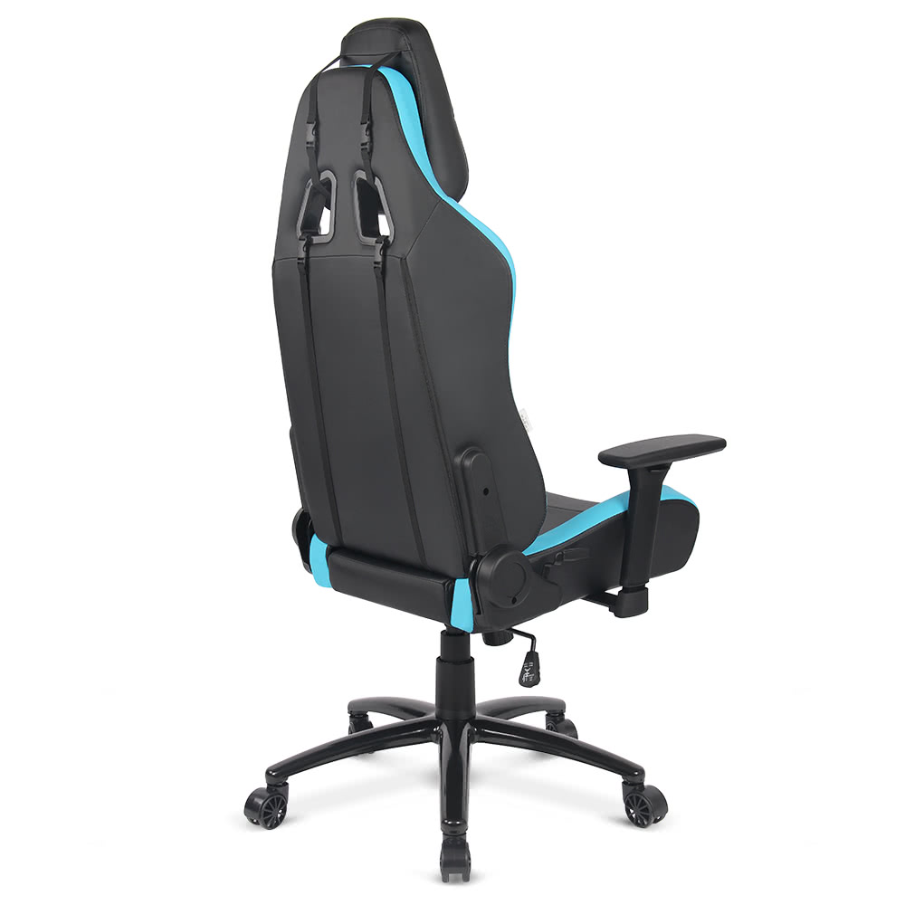 blue iKayaa Ergonomic Racing Style Gaming Office Chair  : H16985FR BL 1 1682 1F6D Chair <strong>Arm Rest Cushion for Office</strong> from www.tomtop.com size 1000 x 1000 jpeg 162kB