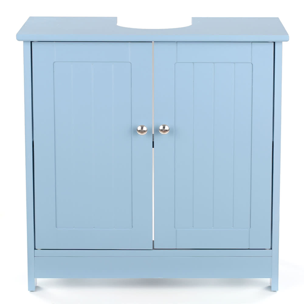 iKayaa Modern Under Sink Storage Cabinet with Doors Bathroom Sales ...