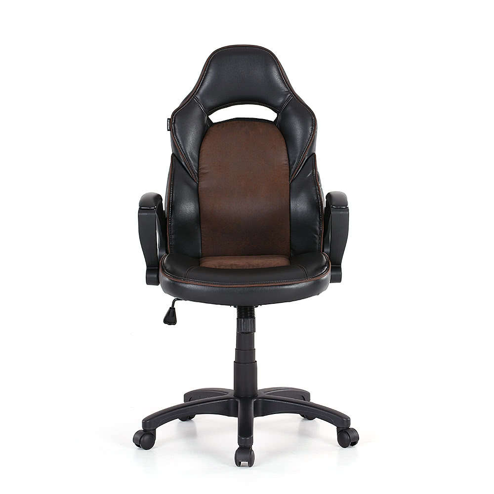 ikayaa fashion pu leather racing style executive office chair