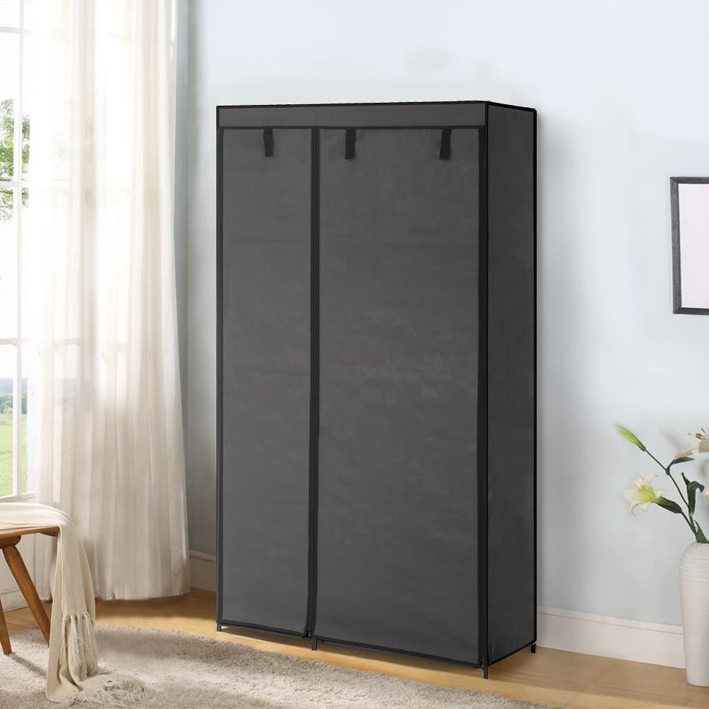 Over Wardrobe Storage ikayaa portable fabric closet wardrobe cabinet storage sales