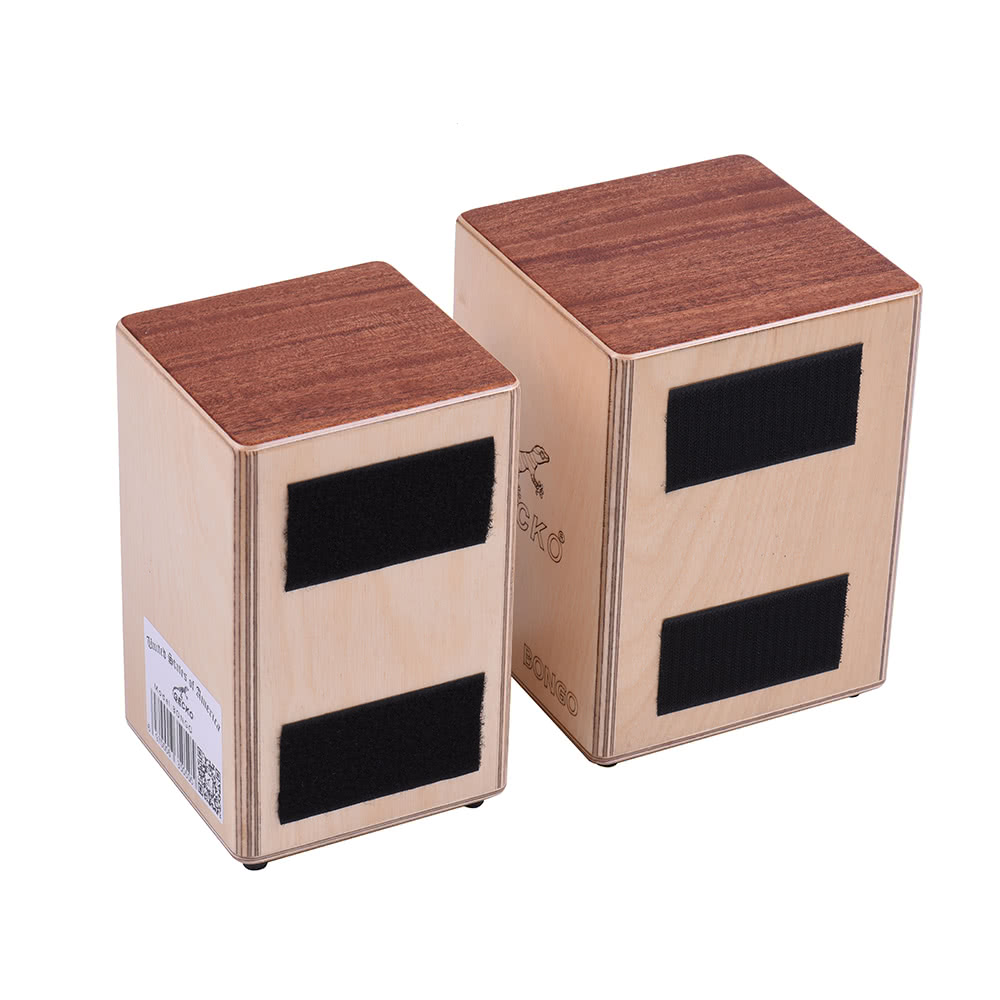 gecko double mini cajons box drum hand drums birch wood sales online natural wood. Black Bedroom Furniture Sets. Home Design Ideas