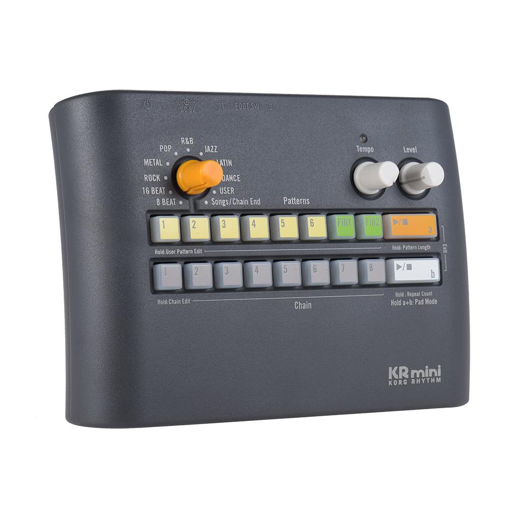 Korg Kr Mini Portable Rhythm Machine With Built In Speaker