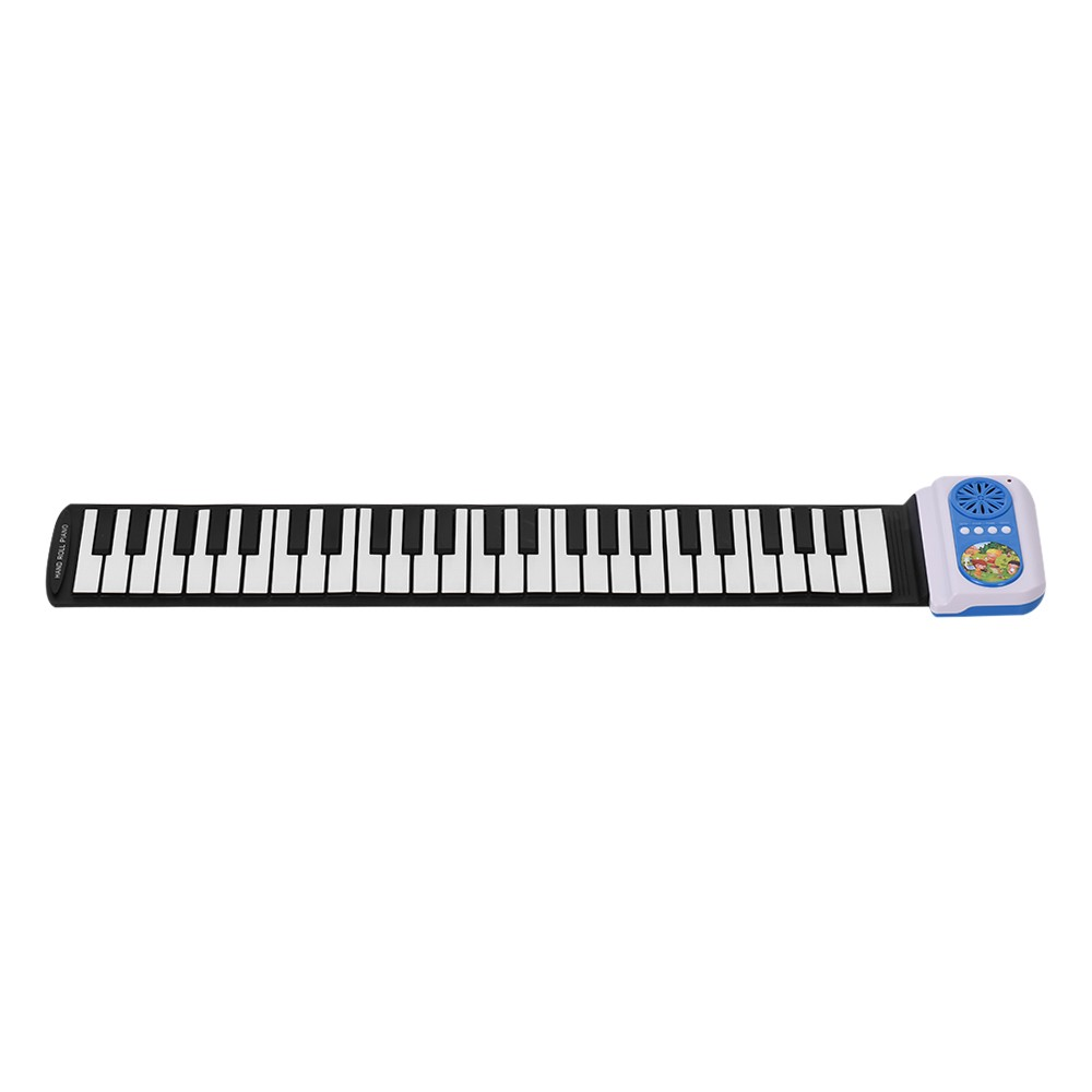 $5 OFF 49 Keys Silicon Electronic Keyboard Hand Roll Up Piano,free shipping $29.99