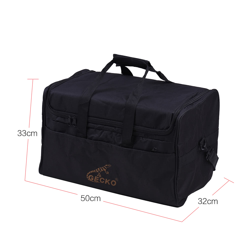 gecko l03 standard adult cajon box drum bag backpack case 600d sales online black tomtop. Black Bedroom Furniture Sets. Home Design Ideas