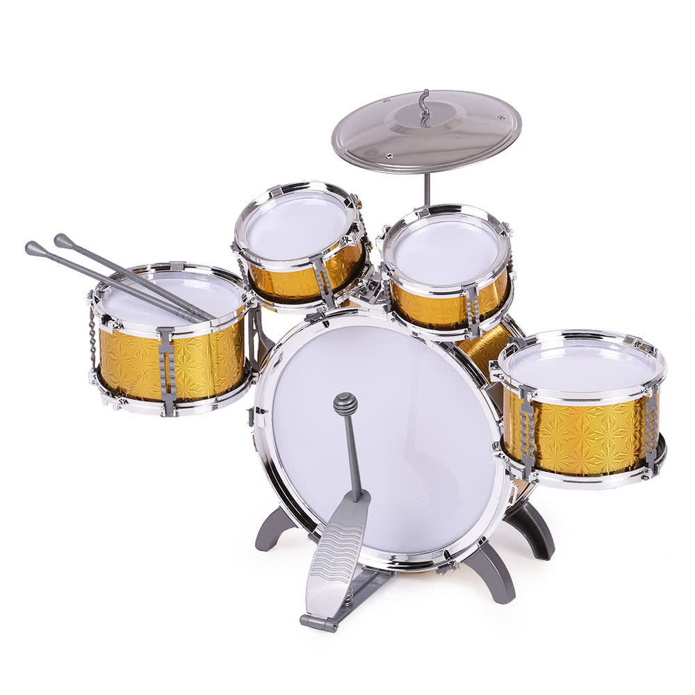 Toy Drum Musical Instruments : Children kids drum set musical instrument toy drums with