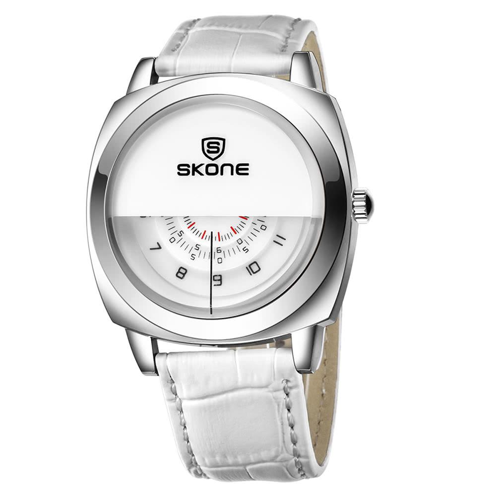 $2.2 OFF SKONE 5017 Quartz Watch,free shipping $7.79