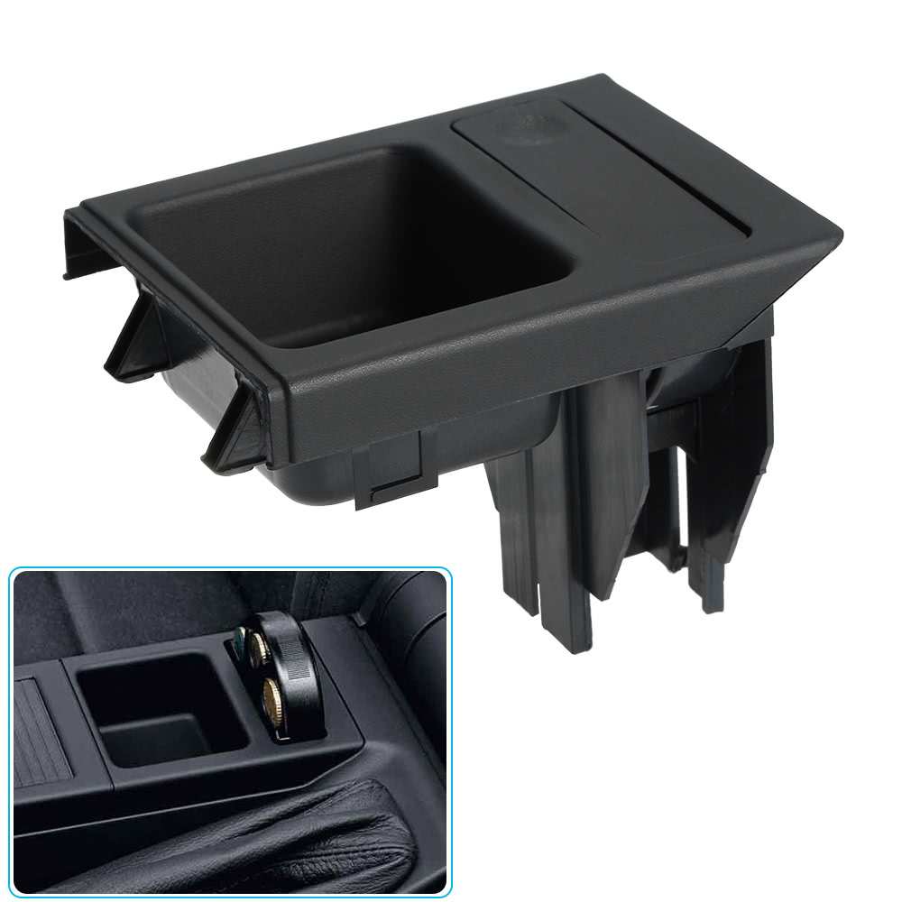 Car Front Center Console Drink Cup Holder Coin Holder