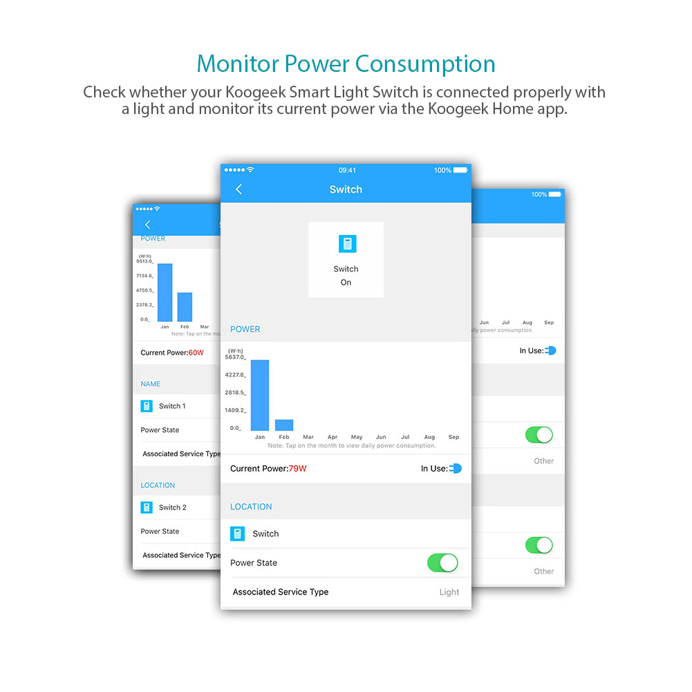 Großhandel Koogeek Wi Fi Aktiviert Smart Light Wall Switch Arbeitet ...