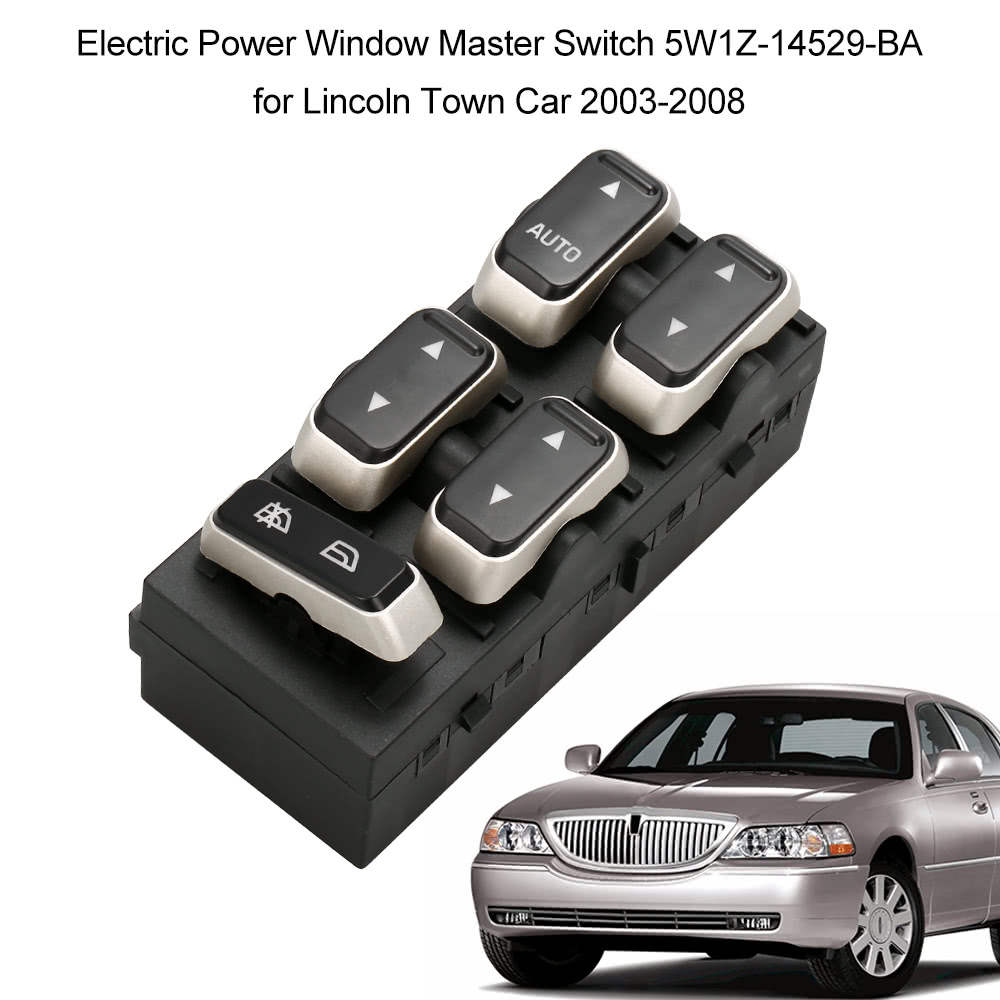 Electric power window master switch end 11 13 2018 7 15 pm for 1999 lincoln town car window switch