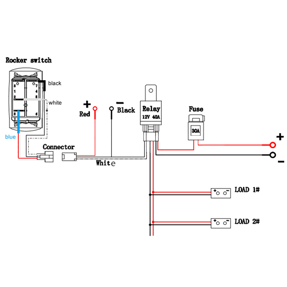 Carling Switch Wiring Diagram further Can Am Outlander 1000 Wiring Diagram besides Wiring Led Lightbar To High Beams in addition Wiring Diagram For Jeep Jk Led additionally 43. on contura rocker switch wiring diagram