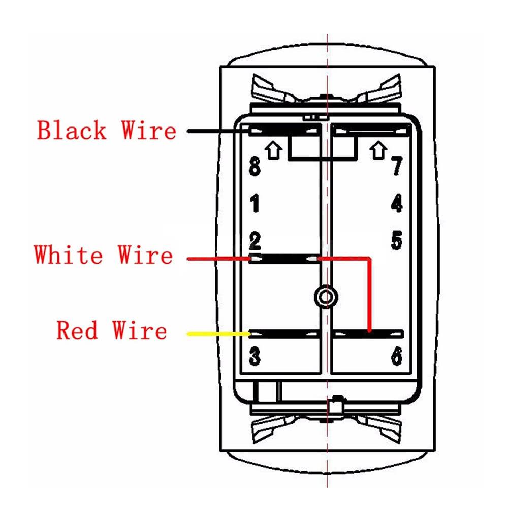 only us 14 44 black led fog light laser rocker on off switch only us 14 44 black led fog light laser rocker on off switch relay wiring tomtop com