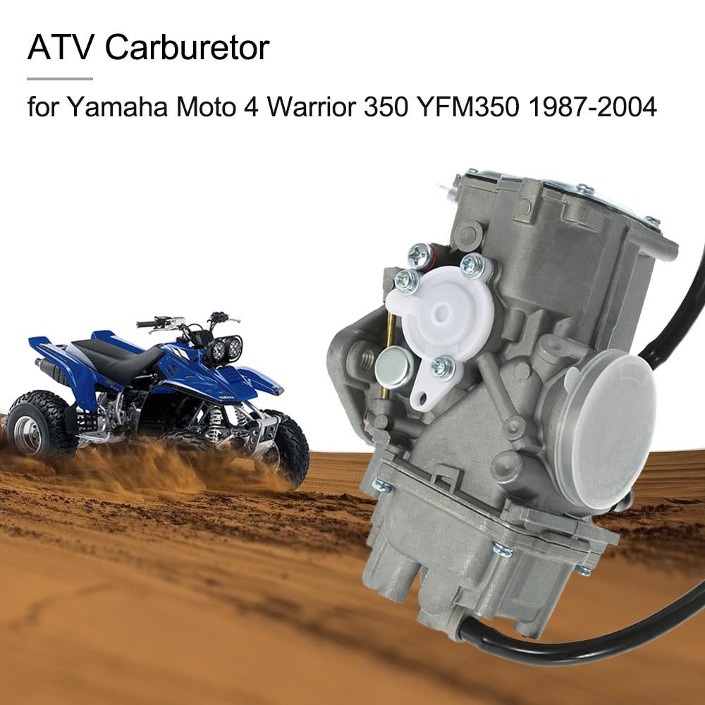 Yamaha Warrior Stock Carb Settings