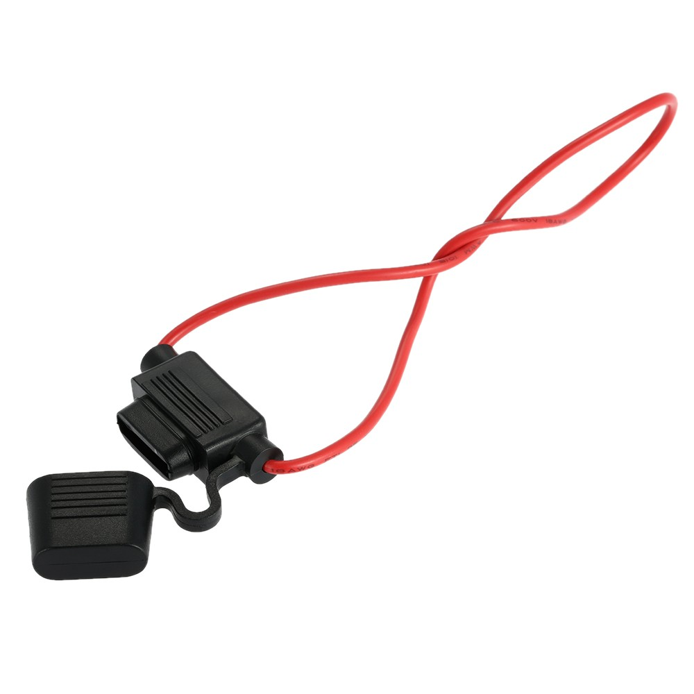 Jumper With Inline Fuse : In line standard blade fuse holder splash proof car