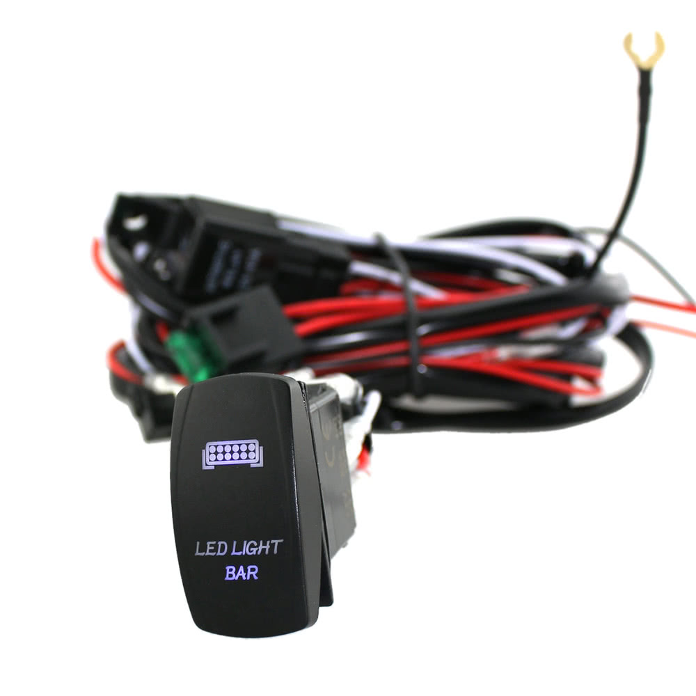 K4776 1 5bd2 ip6E led light bar rocker on off switch with relay wiring harness sales 12v/55w wiring harness controller at eliteediting.co
