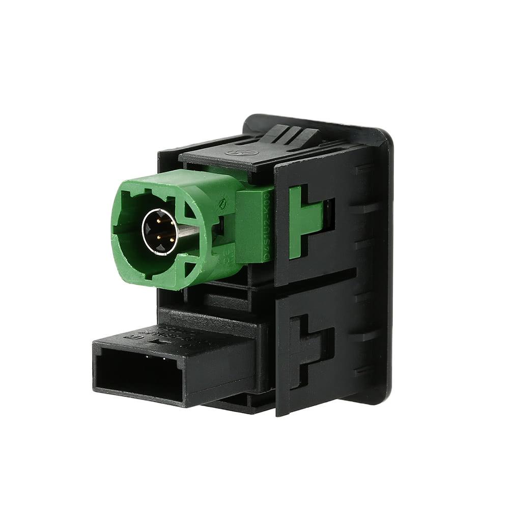 KKmoon USB AUX Audio Cable Switch Plug For VW Passat B6 B7