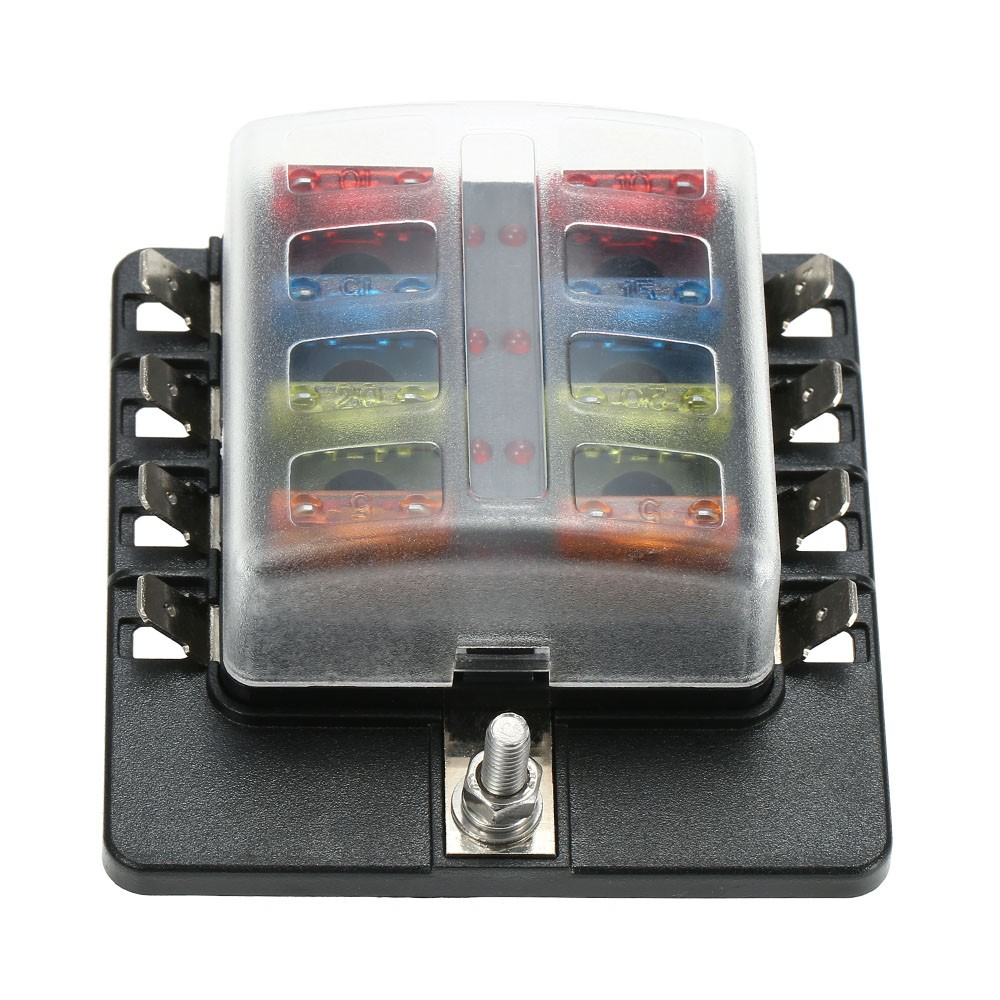 K5648 1 6f8b rDYB 8 way blade fuse block box holder with led warning light for sales automotive fuse box at readyjetset.co