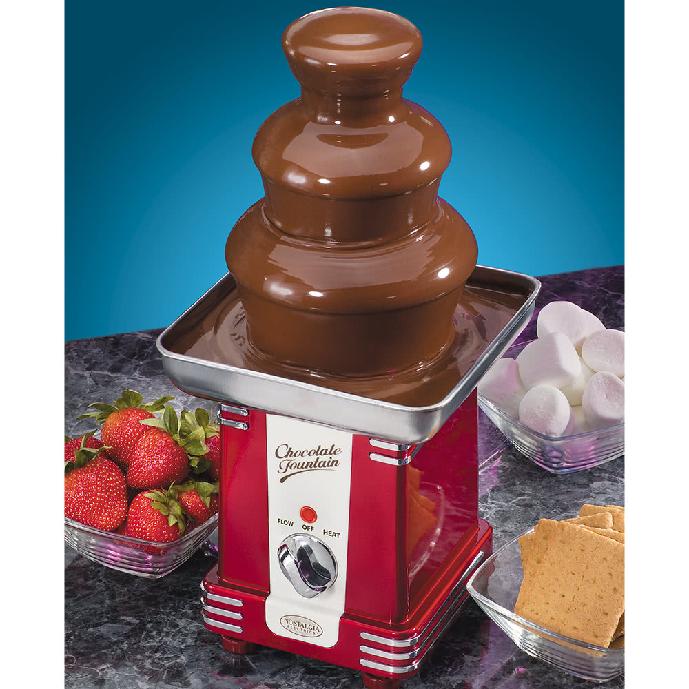 Nostalgia RFF500 50s-Style 3-Tier Chocolate Fondue Fountain Sales ...