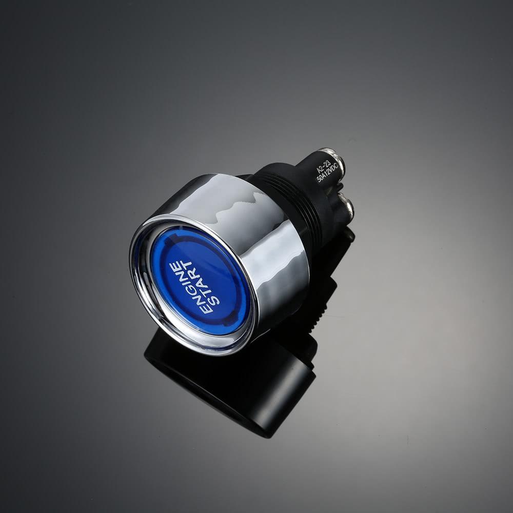 Kkmoon Led Electric Car Engine Starter Switch Diy Ignition Sales