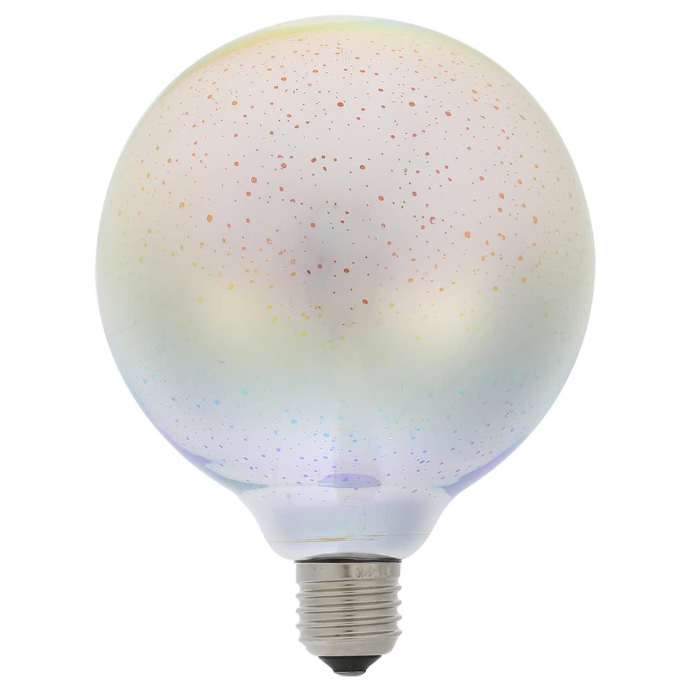 6w e27 led 3d light bulb 85v265v creative colorful decorative lamp a60 filament fireworks ball light for home bar cafe party wedding show ornament store - Decorative Light Bulbs