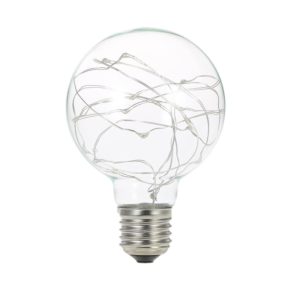 220-240v e27 copper wire string light fairy led bulb filament sales online multi-clolor