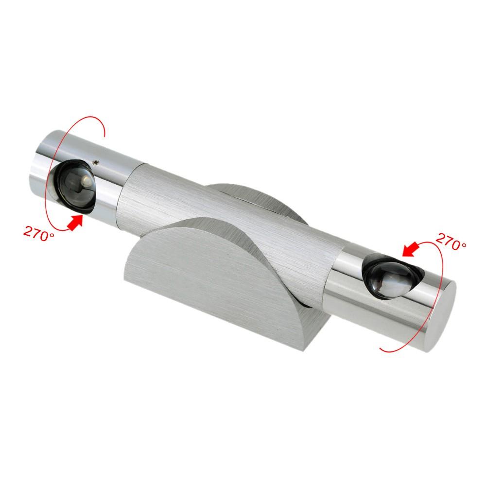 SoloUS10.26,6W 85-265V AC alluminio semplice moderno LED parete ...