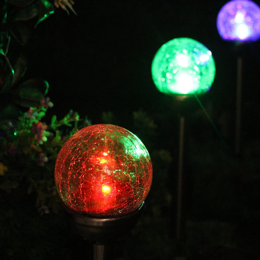 light sensor solar led night light candle lamp colorful