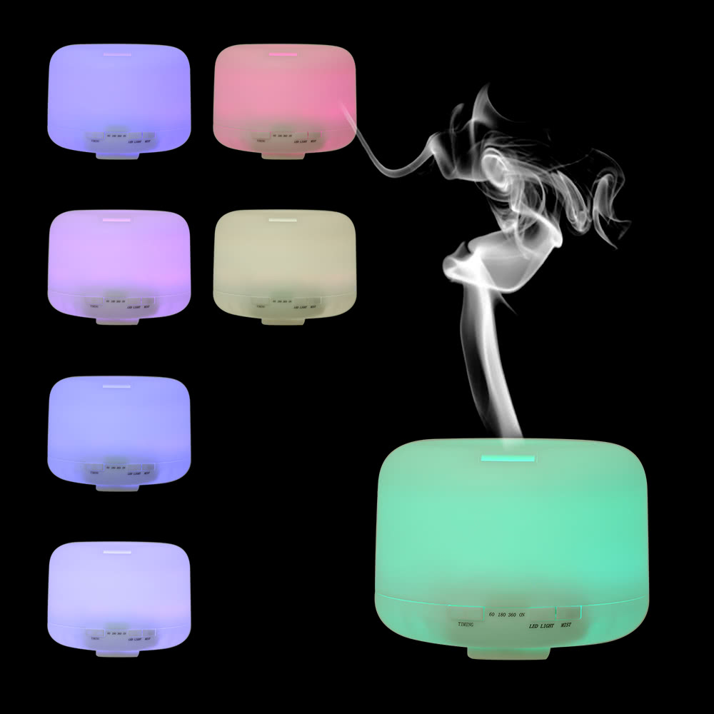 $5 OFF Essential Oil Aroma Humidifier LED Night Light,free shipping $16.99