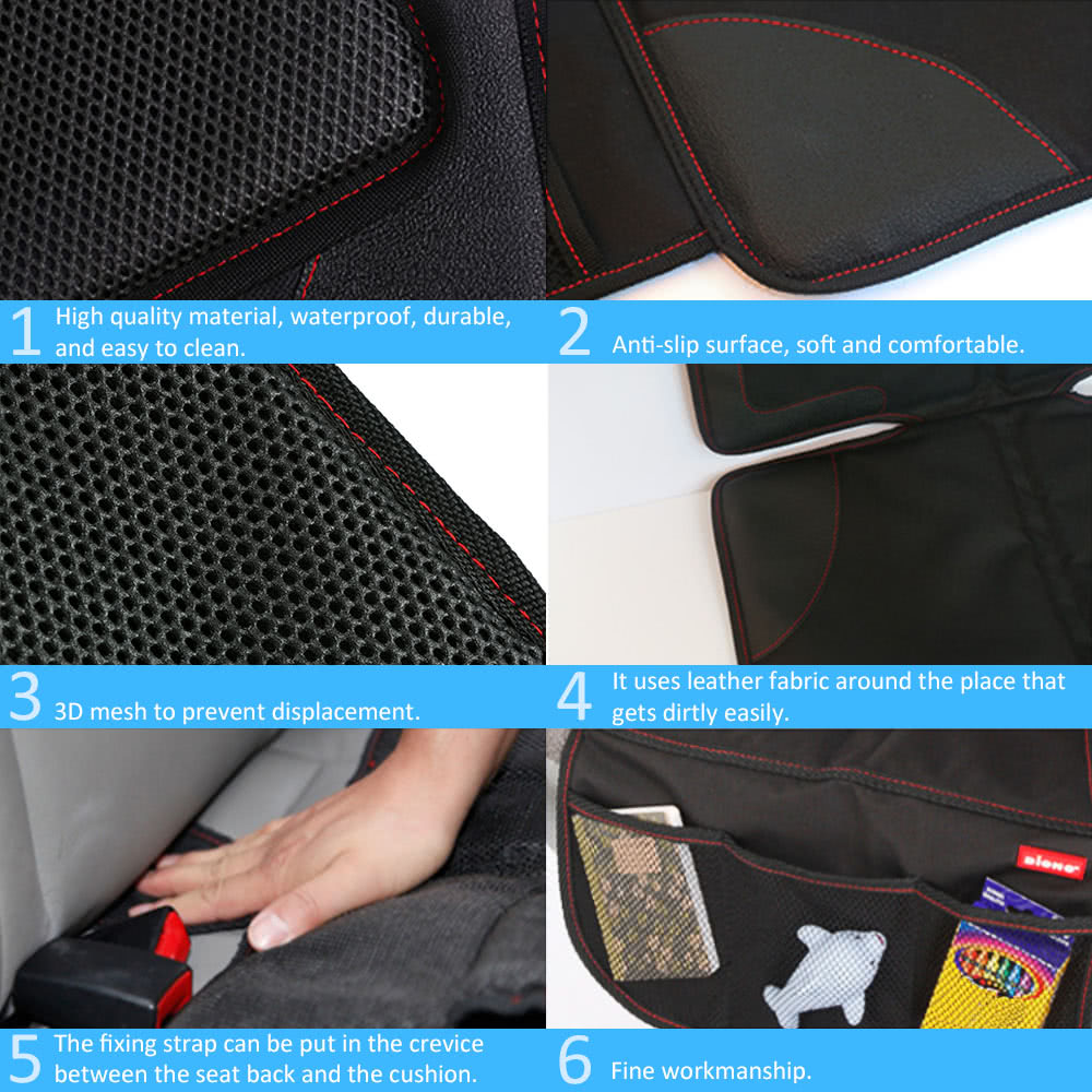 Car Seat Messy Mat