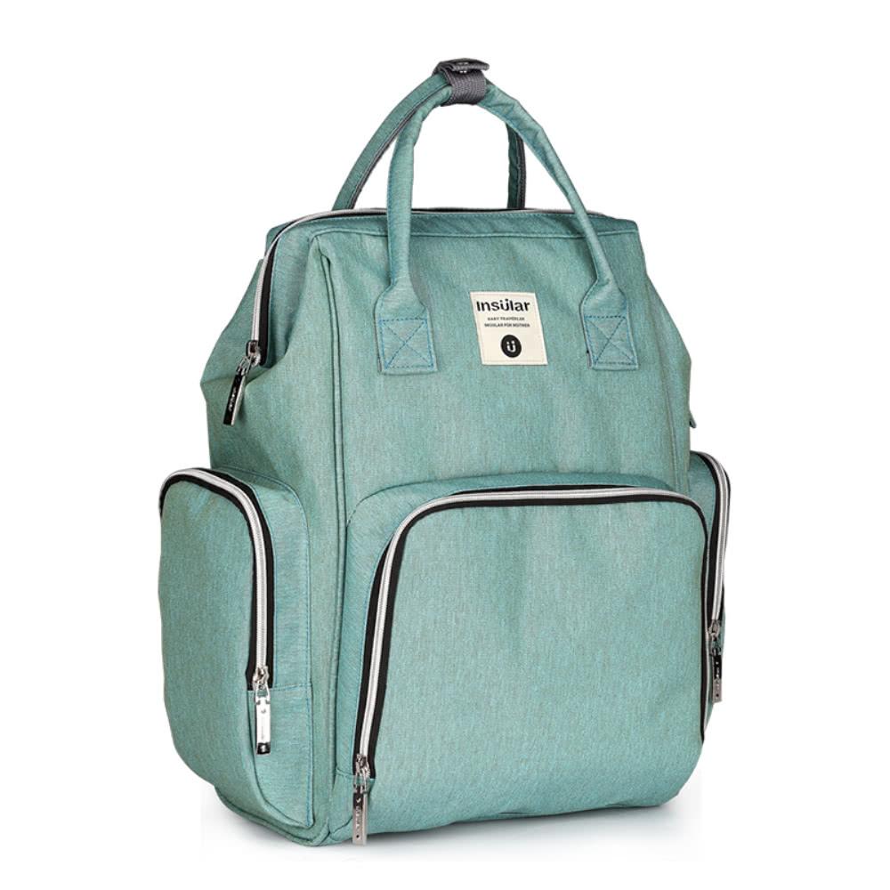 sac dos pour b b sac dos de grande capacit sac vert clair. Black Bedroom Furniture Sets. Home Design Ideas