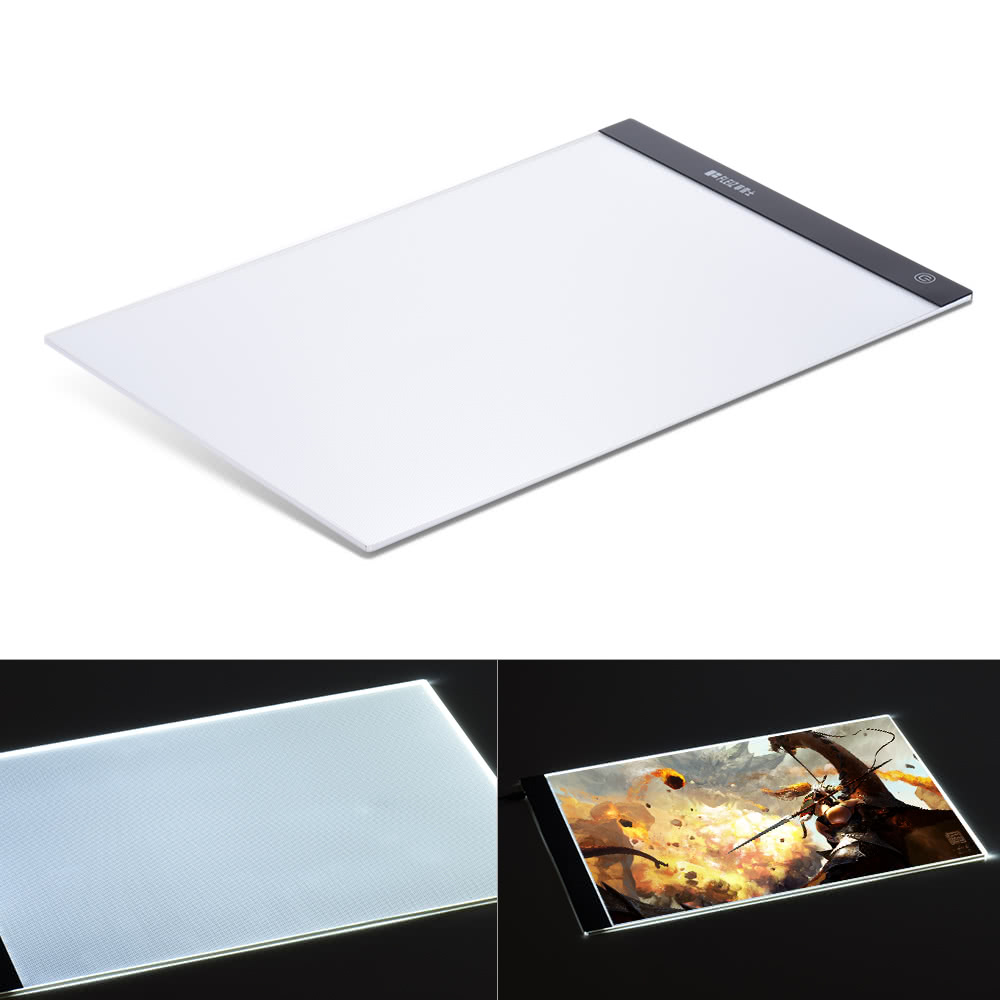 portable a3 led light box drawing tracing tracer copy board sales
