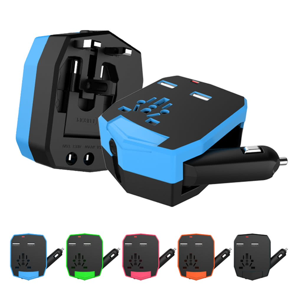 Armadio Per Tablet : Universale tutto in un armadio world travel adapter blu tomtop
