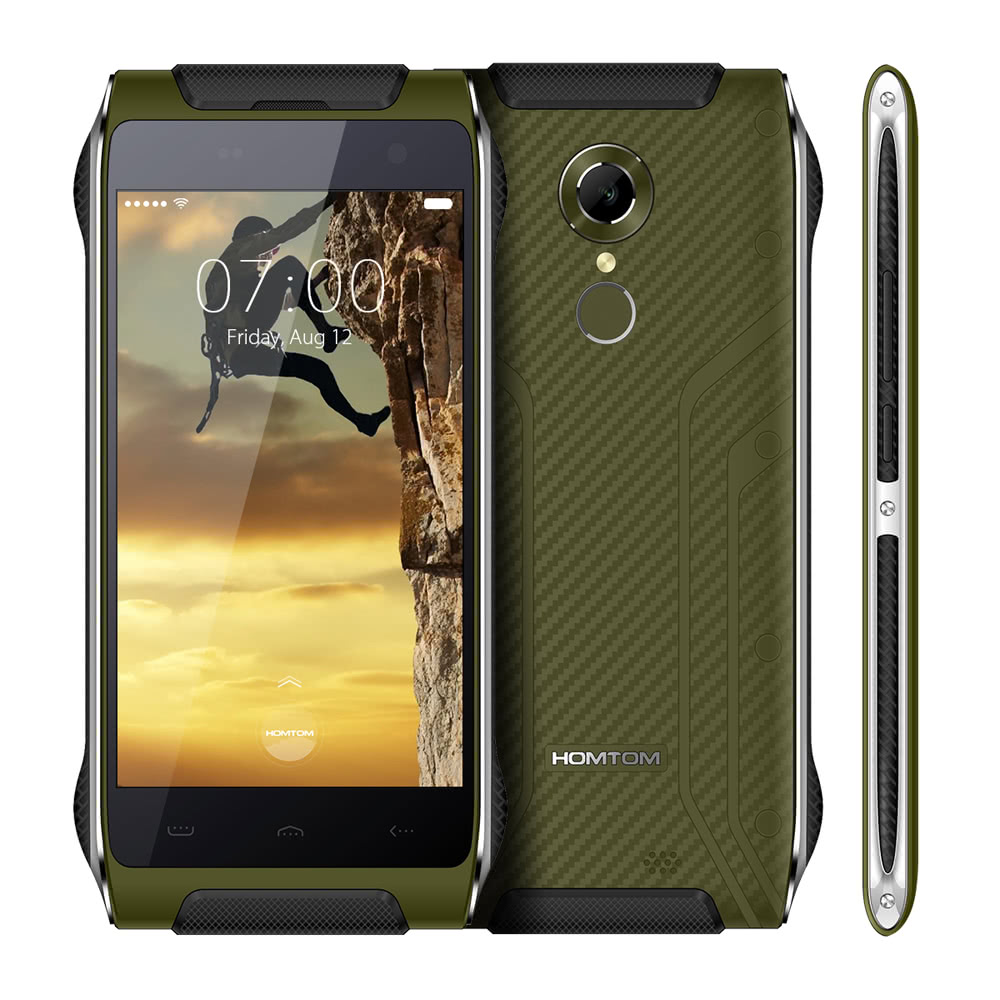tomtop Homtom HT20 MTK6737 1.3GHz 4コア GREEN(グリーン)