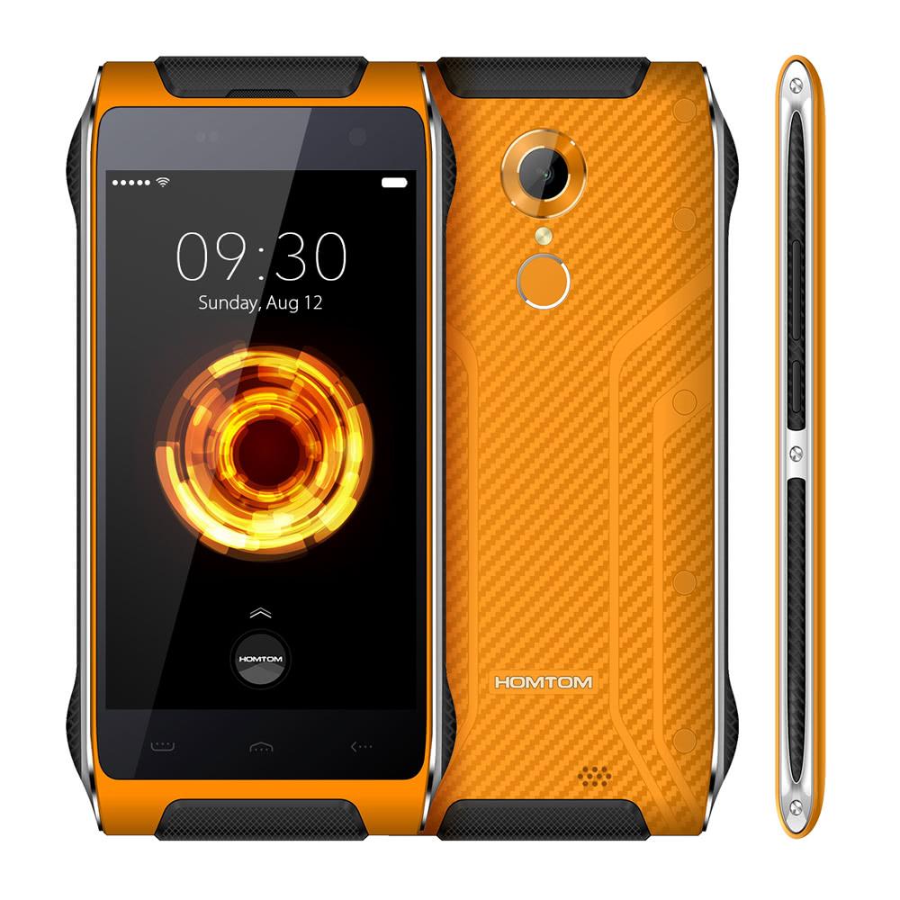 tomtop Homtom HT20 MTK6737 1.3GHz 4コア ORANGE(オレンジ)
