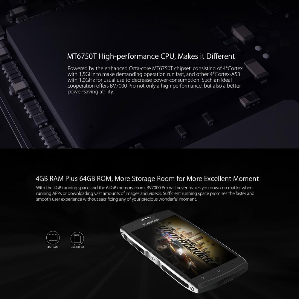 Oferta smartphone Blackview BV7000 PRO por 146 euros (Cupón Descuento) 1 Blackview BV7000