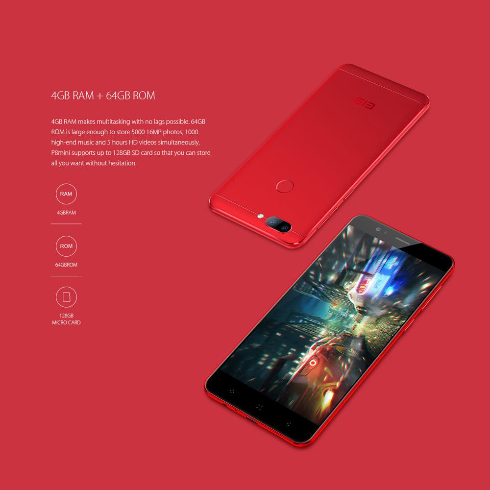 oferta elephone p8 mini