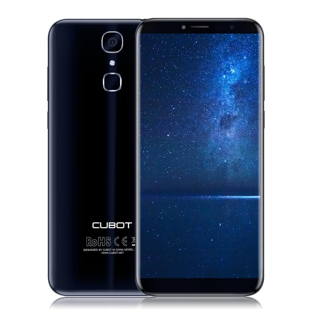 $7 OFF CUBOT X18 Fingerprint 4G Display 3GB +32GB,free shipping $126.99(Code:DSCBX18) from TOMTOP Technology Co., Ltd