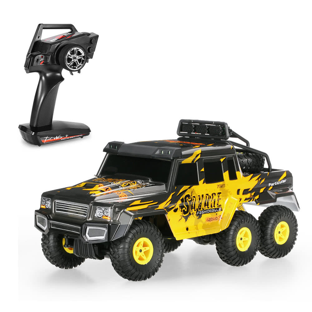 Extra $8.3 OFF Wltoys 18629 1/18 2.4G 6WD RC Crawler $41.69 shipped